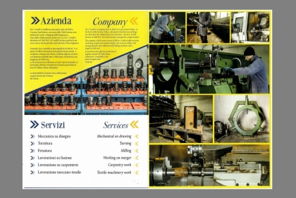 Corporate for Meccanica Corelli
