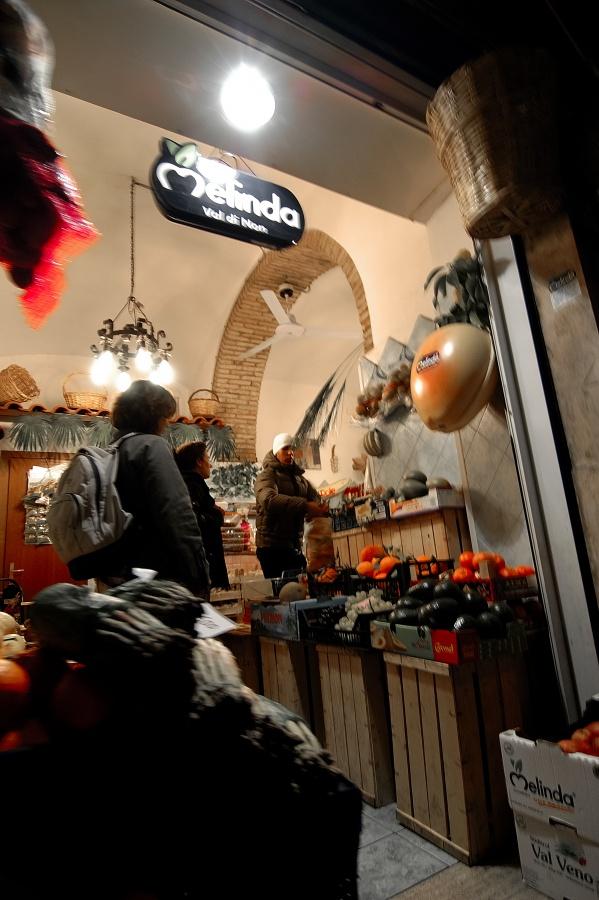 Gerlind at Fruit shop