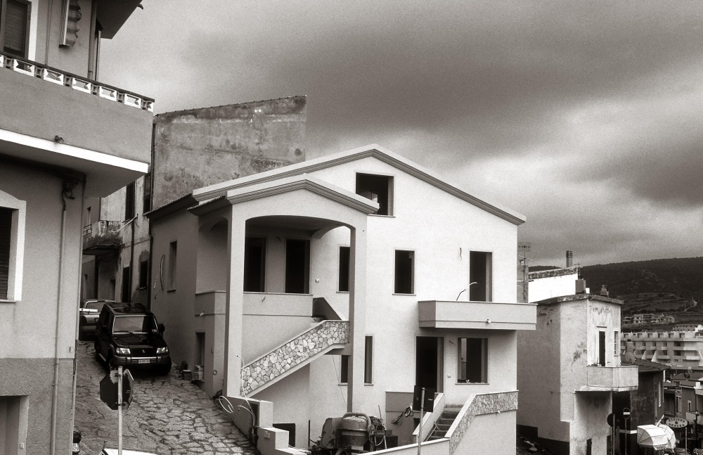 In Castelsardo Sardinia Italy 2006