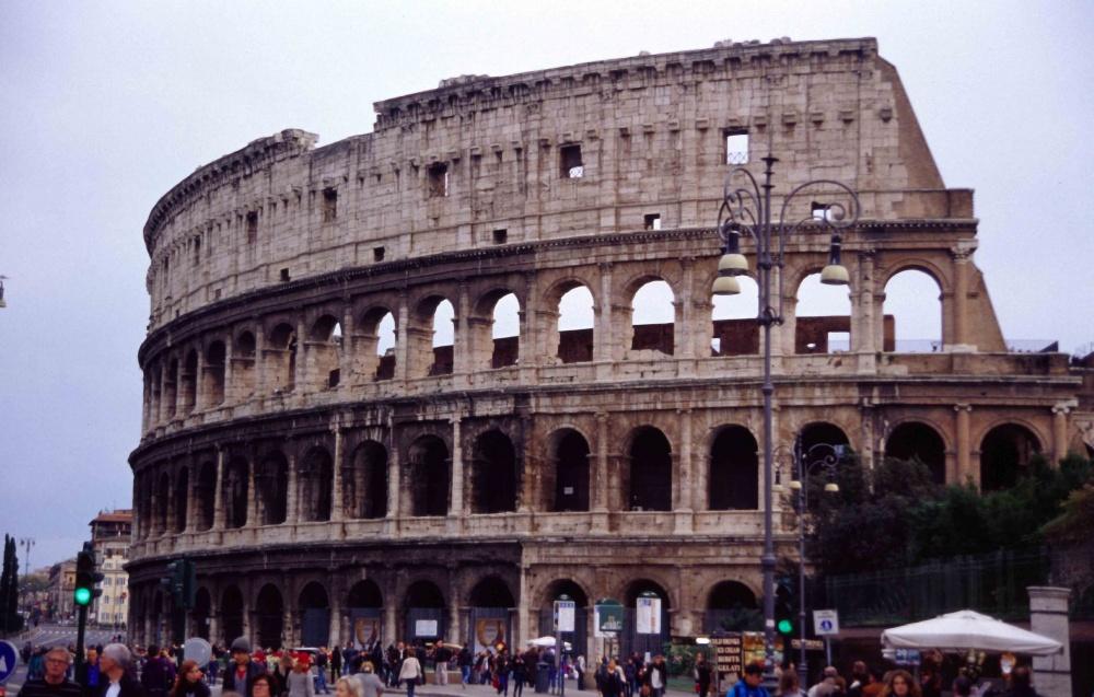 Collosseum Rome Italy 2012