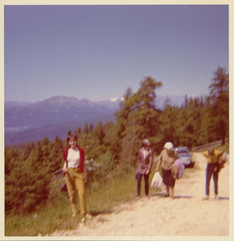 Agosto 1971 Cima Monte Penegal