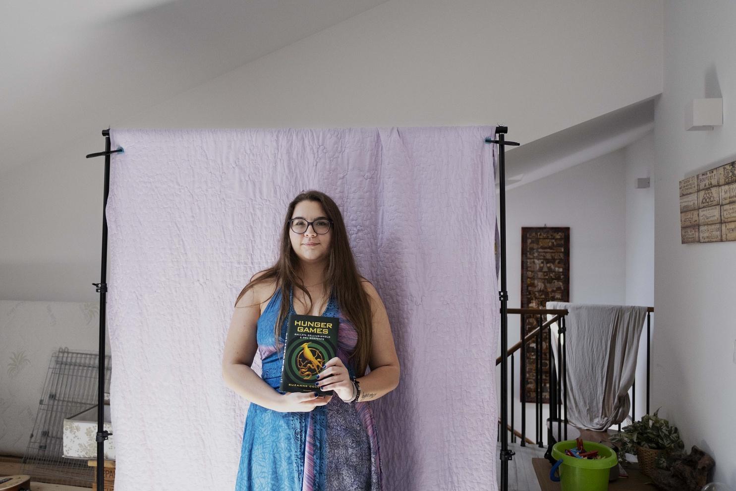 Serena Sangiuliano, 19 anni, Tribiano (MI) - Durante il lockdown ha scelto di acquistare l'ultimo libro uscito di una saga che segue da sempre.