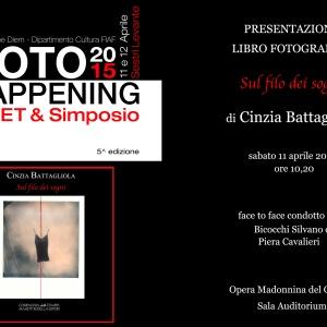 """Presentazione del libro fotografico """"Sul filo dei sogni"""" di Cinzia Battagliola"""