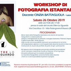 WORKSHOP DI FOTOGRAFIA ISTANTANEA