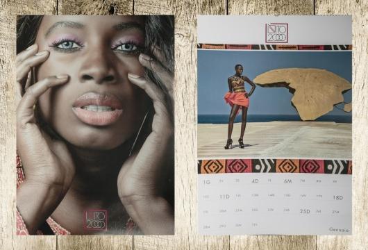 Clalendario 2015 African Beauty