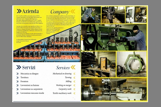 Corporate for Meccanica Corelli