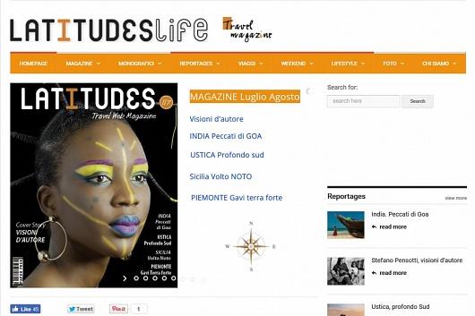 Latitudes magazin July - August 2018