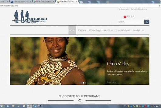 Corporate for Off-Road Tour Operator - Ethiopia