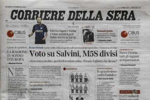 Corriere della Sera 18 February 2019