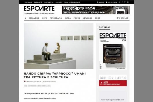 Corporate photography for Galleria Melesi Arte Contemporanea