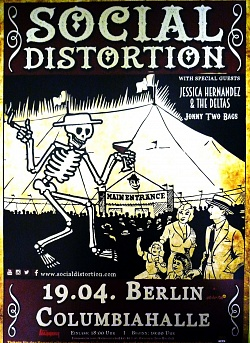 SOCIAL DISTORTION, Berlin, Columbiahalle, April, 19. 2015