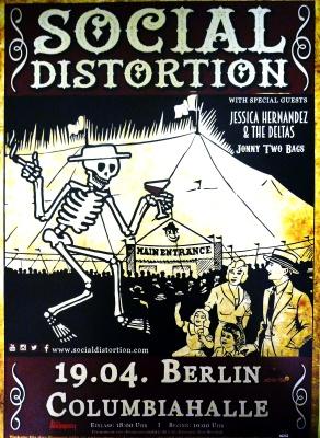 SOCIAL DISTORTION, Berlin, Columbiahalle, April, 19. 2015
