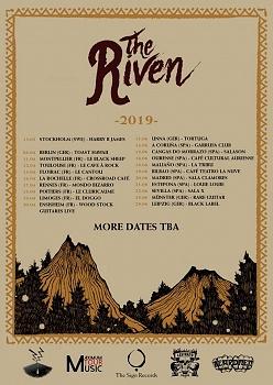THE RIVEN, Leipzig, Black Label Pub, June, 29. 2019