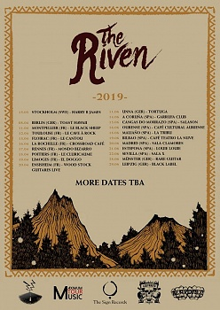THE RIVEN, Leipzig, Black Label Pub, June, 29. 2019