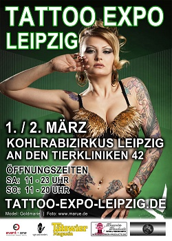 Tattoo Expo Leipzig Germany