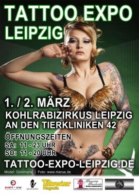 Tattoo Expo Leipzig Germany