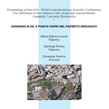 2014 - Danisinni ri.de. e pianta papiri nel papireto riesumato