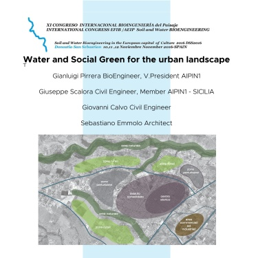 2016 - Water and Social Green for the urban landscape