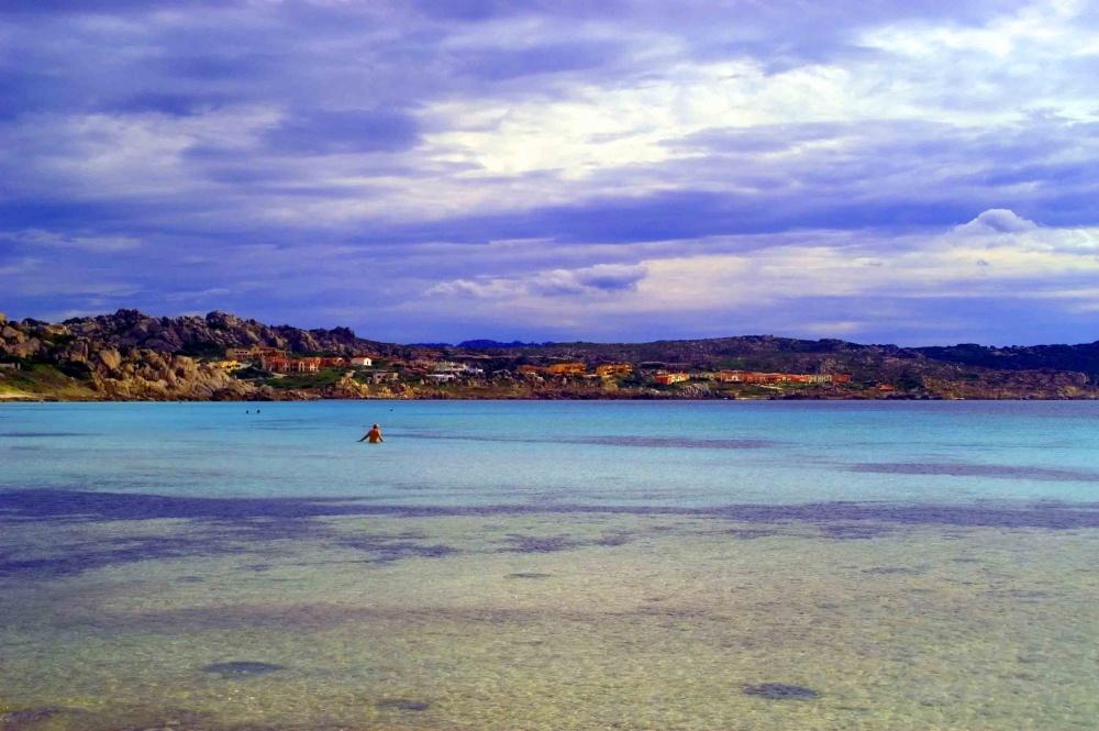 Capo Testa beach Sardinia Italy 2010