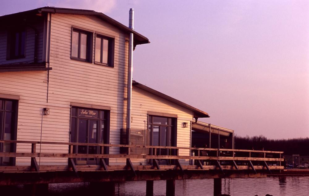 "Restaurant ""Sole Mio"", Pier 1, Cospudener See"