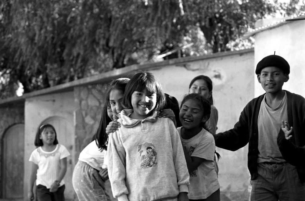 Children playing model - Humahuaca