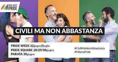 Campagna Milano Pride 2018