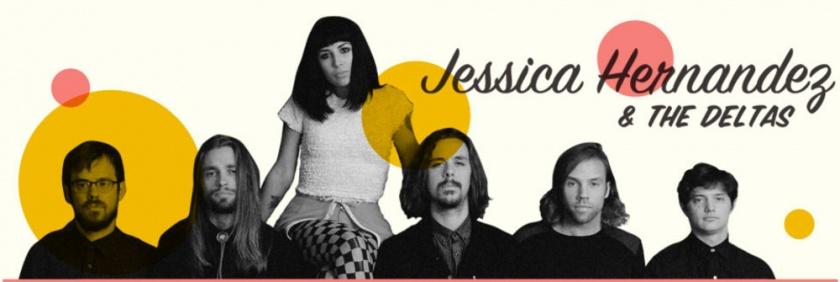 Jessica Hernandez & The Deltas, Berlin, Columbiahalle, April, 19. 2015